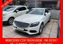 Bán Mercedes Benz C250 trắng/kem - trả trước 430tr nhận xe ngay giá 1 tỷ 280 tr tại Tp.HCM