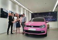 LH Mr Thuận: 0932168093 (Có Video)- Bán xe Đức, Polo Hatch màu độc -Hồng Hello Kitty - Lái bao ngon, vay bank 90% giá 529 triệu tại Tp.HCM