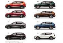 Volkswagen Vũng Tàu bán xe Đức Tiguan Luxury 2020 nhập khẩu 8 màu giao ngay, khuyến mãi khủng gần 100tr tiền mặt + PK giá 1 tỷ 799 tr tại Tp.HCM