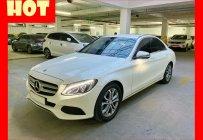Bán xe Mercedes C200 trắng/kem 2017 - trả trước 500 triệu nhận xe   giá 1 tỷ 139 tr tại Tp.HCM