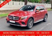 Cần bán Mercedes GLC300 đời 2019, màu đỏ giá 1 tỷ 860 tr tại Tp.HCM