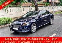 Cần bán Mercedes E200 đời 2019, màu xanh lam giá 1 tỷ 489 tr tại Tp.HCM
