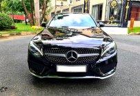 Xe Mercedes C300 AMG cũ 2017, màu đen-nội thất đỏ siêu hiếm giá 1 tỷ 500 tr tại Tp.HCM