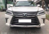 Bán Xe Lexus LX570 Trắng nội thất Kem xe xuất Mỹ sản xuất 2016 đăng ký 2017 giá 6 tỷ 280 tr tại Hà Nội