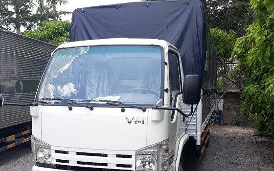 Xe tải VM 1t9 thùng dài 6m2 động cơ Isuzu. Xe tải VM 1t9 khí thải Euro 4 ga điện. Xe tải 1T9 hiệu VM