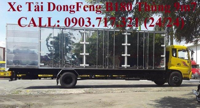 Xe tải DongFeng B180 nhập 2019. Xe tải DongFeng B180 HP180 mã lực. Xe tải DongFeng 7T5 B180