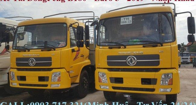 Xe tải DongFeng B180/ Xe tải DongFeng 7T5/Xe tải DongFeng thùng dài 9m7 nhập khẩu