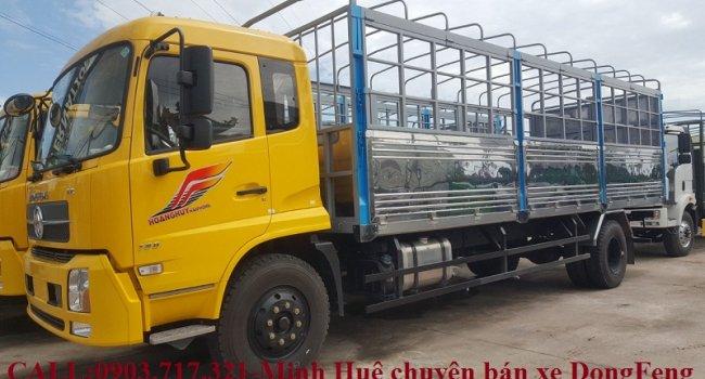 Xe tải DongFeng B180 Hoàng huy nhập khẩu 2019 Euro 5 thùng bạt 7m5 tải trọng 9Tấn