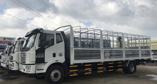 Bán xe tải Faw 7T25 thùng dài 9m7 hiệu Faw E5T8 GMC - Bán trả góp trên toàn quốc