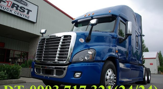 Đầu kéo Freightliner Cascadia 2015, bán trả góp xe đầu kéo Freightliner Cascadia 2015