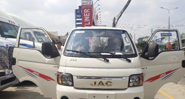 Xe tải Jac 990kg/ Bán xe tải Jac 990kg động cơ xăng giá tốt giao xe ngay